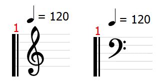 楽譜 五線譜 tab tab譜 読み方 ト音記号 ヘ音記号 音部記号 拍子 ギター 音楽理論