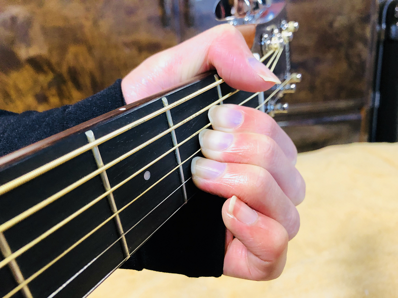 ギター コード A Aコード Aメジャー
