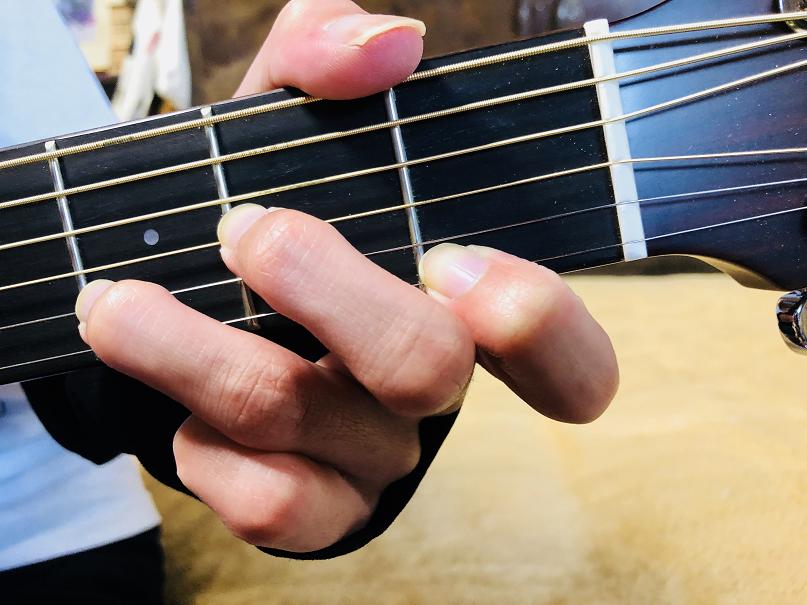 ギター コード Dm Dmコード Dマイナー