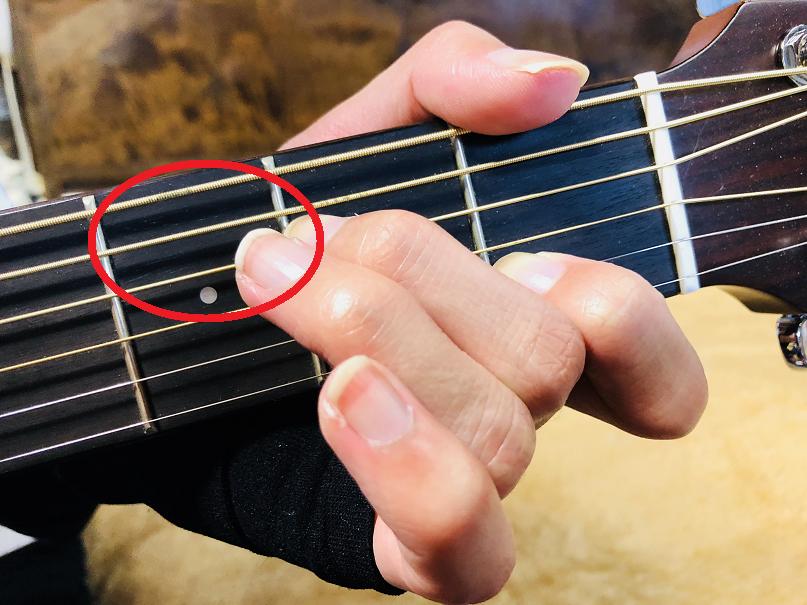 ギター コード C/A 分数コード オンコード Am7